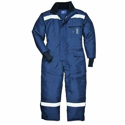 Portwest Cold-Store Coverall Overall Boilersuit Rainwear Pockets Reflective