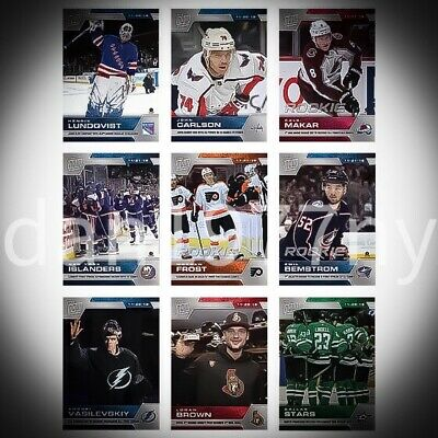 🛑👀 2019-2020 Week #8 Topps Now Nhl Stickers. Pack Of 9 🔥 Free Shipping*