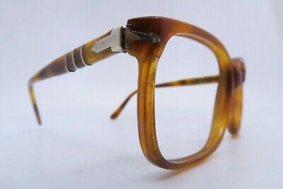 Vintage late 60s early 70s Persol meflecto RATTI eyeglasses frames Mod 58146 Exc
