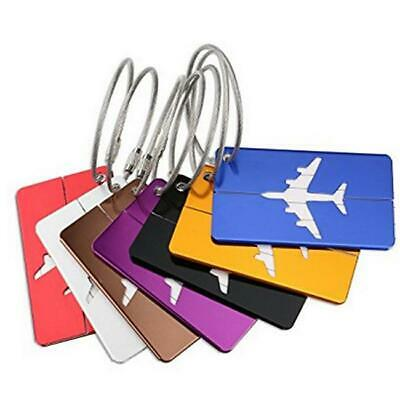 Travel Luggage Bag Tag Name Address ID Label Rubber Suitcase Baggage Tags HS3
