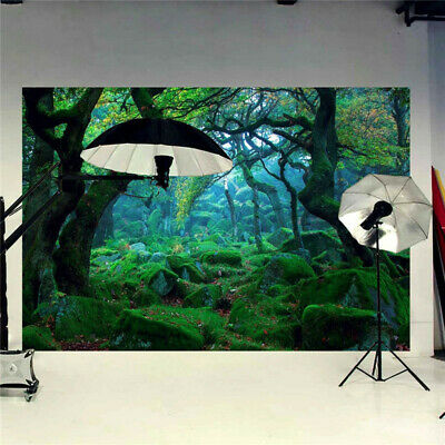 7X5ft Natural Forest Jungle Photography Background Backdrop Photo Studio