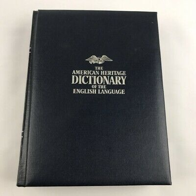 American Heritage English Dictionary Hardcover 1969 2nd Printing Book
