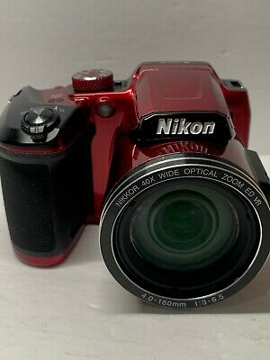 Nikon COOLPIX B500 16.0MP Digital Camera - Red USED CONDITION!!