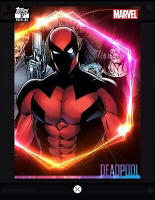 Topps MARVEL COLLECT DIGITAL CARD ULTIMATE UNIVERSE 1st PRINTING DEADPOOL 250cc