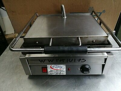 Single Contact Grill Ribbed Top And Smooth Bottom     Wwpa10175