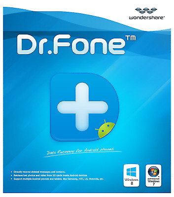 Wondershare Dr.Fone toolkit for iOS and Android✅ Lifetime licence 💌 FAST DELIVE