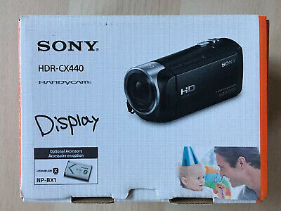 Sony Handycam HDR-CX440 1080p Full HD Camcorder Exmor CMOS -