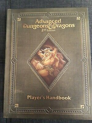 Advanced Dungeons and Dragons 2nd Collectors Edition Reprint: PHB   Like New