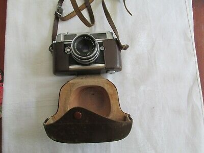 Vintage Mamiya Sekor Camera in Leather Case Japan