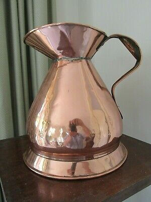 Large Antique Copper Pitcher or Pourer