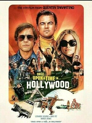 Once Upon a Time in Hollywood (DVD 2019) NEW <<PRE-ORDER>> SHIPS ON 12/10/2019