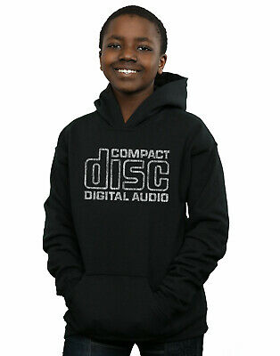 Compact Disc Boys Distressed Logo Hoodie