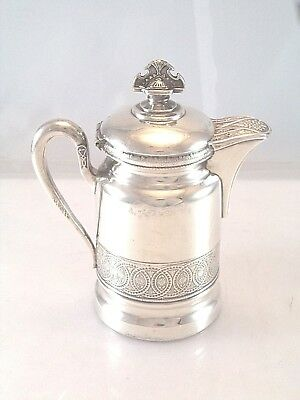 Aesthetic Movement Wilcox Quadruple Plated Syrup Honey Pitcher Splendid
