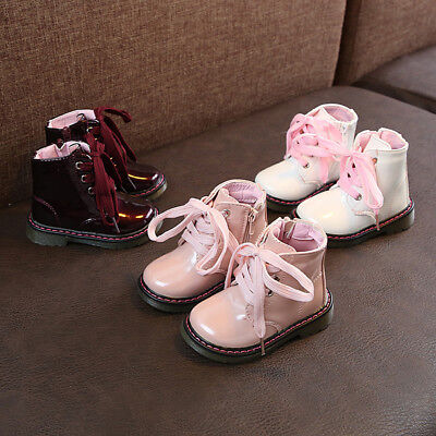 Children Toddler Baby Boys Girls Kid Winter Warm Martin Boots Snow Casual Shoes