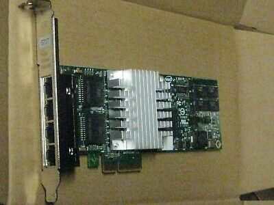 Intel PRO 1000 PT 4-Port Gigabit CPU-D61407 Network Adapter  high profile