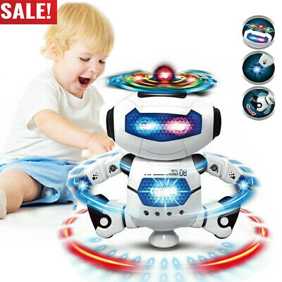 Toddler Robot Dancing Toys For Boys Robot Kids Musical Toy Birthday Xmas Gift US