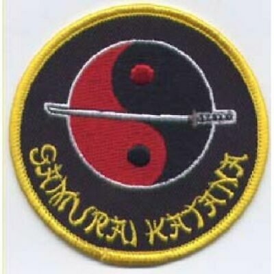 Yin Yang Gi Patches Uniform Suit Martial Arts Embroidered Badges