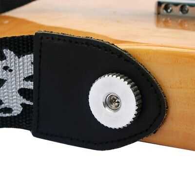 1 Pc Guitar Strap Buckle Sturdy Durable Guitar Parts for Musical Instrument Bass