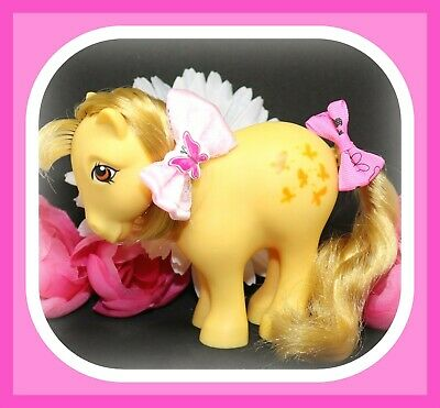 ❤️My Little Pony MLP G1 Vtg 1982 Collector's Pose Flat Foot FF Butterscotch❤️