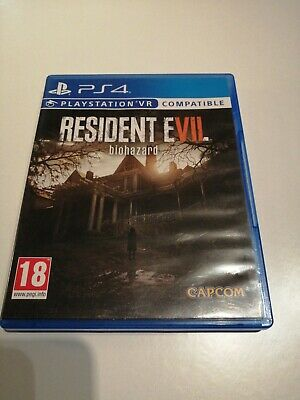 Sony Playstation 4 game. Resident evil 7 biohazard. VR compatible. PS4