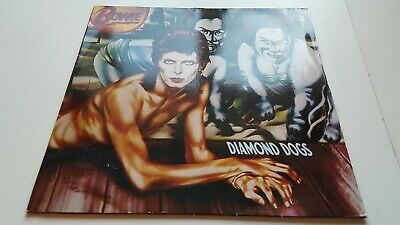 DAVID BOWIE diamond dogs 1986 REISSUE VINYL LP - POP / ROCK / EX+ NEAR MINT
