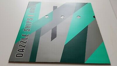 ORCHESTRAL MANOEUVRES IN THE DARK dazzle ships VINYL LP 1983 SYNTH EX CONDITION