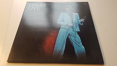 DAVID BOWIE david live G/FOLD VINYL LP - 1983 / POP / ROCK / EX+ NEAR MINT