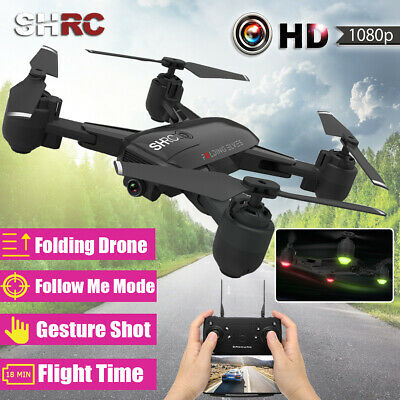 RC Drone x pro 1080P HD With Camera Wifi APP FPV Wide-Angle Quadcopter AU 🔥 G