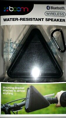 Boom Water Resistant Wireless Bluetooth Speaker 921069 Black