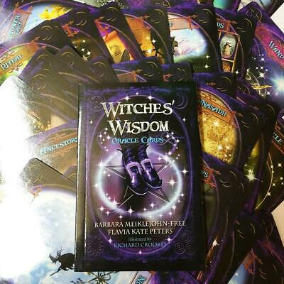 48 Cards/set Newest English Witches Wisdom Oracle Cards Deck Mysterious Tarot