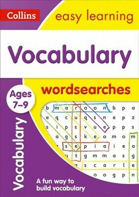 Vocabulary Word Searches Ages 7-9, Paperback by Collins Easy Learning, Brand ...