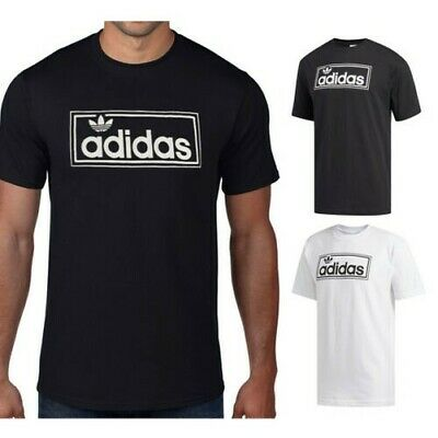 T SHIRT ADIDAS UOMO Atlethic The Brand With 03 Nero