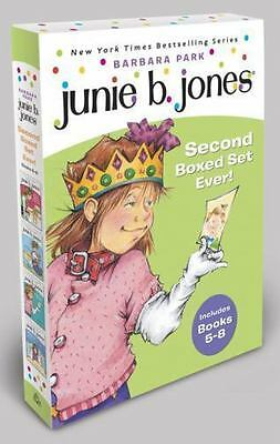 Junie B. Jones's Second Boxed Set Ever! Bks. 5-8 by Barbara Park (2002, Paperba…