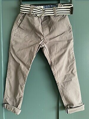 AGE 5 Years JASPER CONRAN Boys Chinos GREY Trousers Jeans Bottoms Kids Clothing