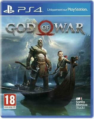 God of War - Sony PlayStation4 , Neuf Sous Blister, Version Française