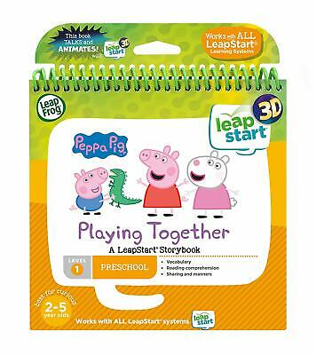 Leapfrog Leapstart Nursery Peppa Pig Story Book 3D Enhanced Level-1 Preschool UK