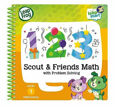 Leapfrog Leapstart Scout & Friends Maths Activity Book 3D Enhanced Preschool UK