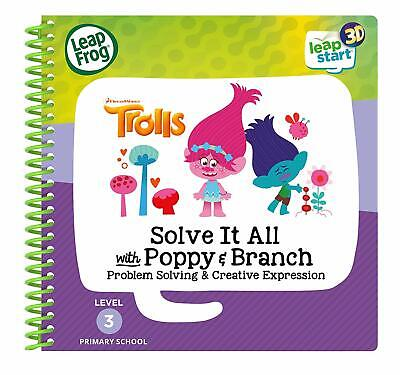 Leapfrog Leapstart Reception Trolls Solve It All Activity Book 3D Enhanced UK