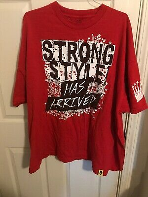 Shinsuke Nakamura Strong Style Has Arrived WWE NXT T-Shirt 3x