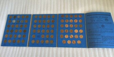 1941-1970 Lincoln Head Cent Collection Whitman #2 Folder #9030  86 Coins