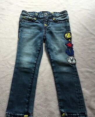True Religion,'Tony',Superskinny,Blue Overstitched,Badge Detail Jeans/Trousers