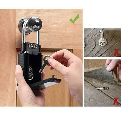 Wall Mounted High Security Storage Digit Key Box With Combination Lock JA