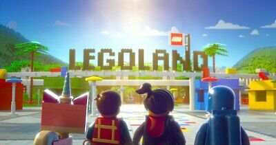 2 Hopper Tickets-LEGOLAND California, and Sea Life Aquarium-Exp.9/10/2020