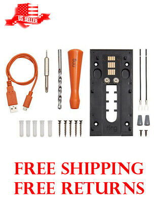 Ring Doorbell Wall Plate Mount Hard Wire Bracket & Kit RING 1st First Generation