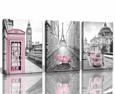 Paris Eiffel Tower Decor for Bedroom for Girls Pink Paris Theme Room Decor Wall