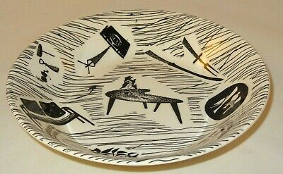 """Ridgway Homemaker 7"""" Desset Cereal Bowl Early Backstamp c1960 Up To 8 Available"""