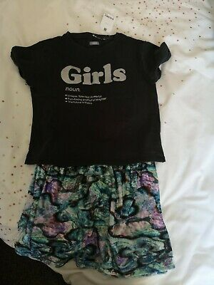 Next Skirt And Top Age10
