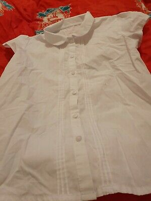 Lovely Girls george White School Blouse Age 12-13 Years