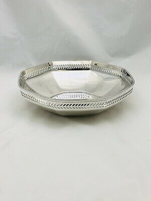 Authentic Tiffany & Co. Sterling Silver Art Deco Bowl # 20200 L