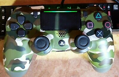 Sony DualShock 4 V2 Wireless Controller - Green Camo for PlayStation 4
